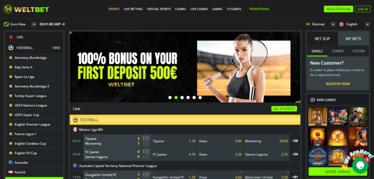 Read more about the article WeltBelt Casino Free Bonus Codes – WeltBet.com Coupons September 2021