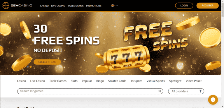 Zev Casino Promo Codes – ZevCasino.com Free Spins January 2021