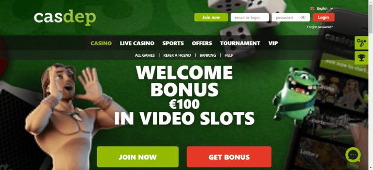 Casdep Casino Promo Codes – Casdep.com Free Spins January 2021