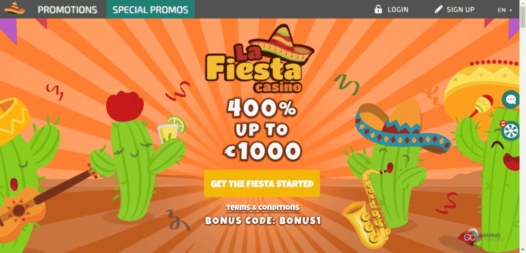 Read more about the article La Fiesta Casino Promo Codes – LaFiestaCasino.com Free Spins September 2021