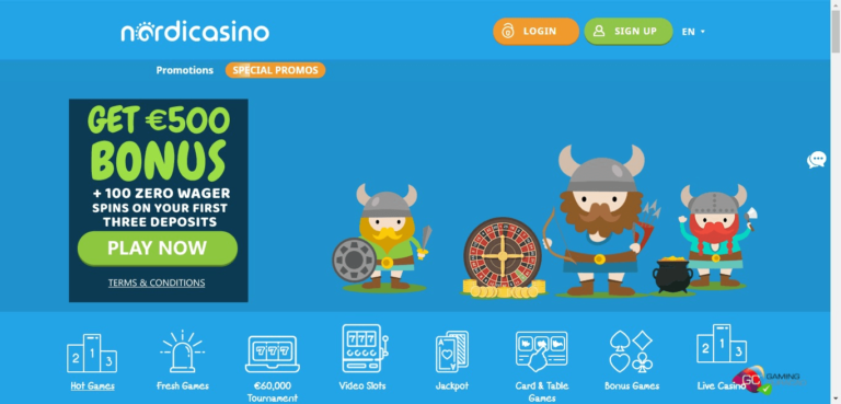Read more about the article Nordi Casino Bonus Codes – NordiCasino.com Free Spins September 2021