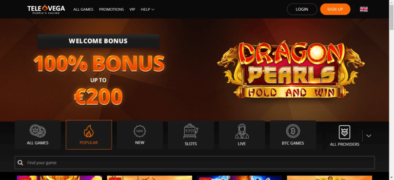 TeleVega Casino Promo Codes – TeleVega.com Free Spins January 2021