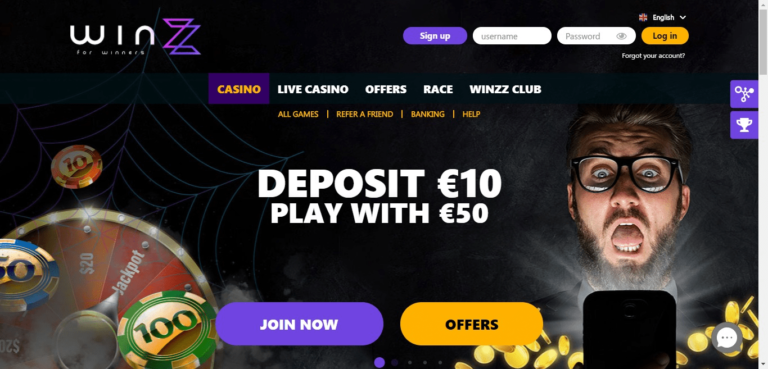 Winzz Casino Promo Codes – Winzz.com Free Spins January 2021