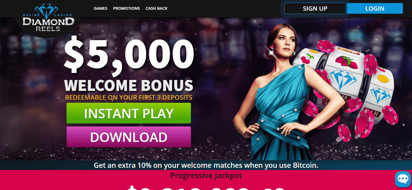 Diamond Reels Casino Promo Codes – Diamondreels.com Free Spins Bonus