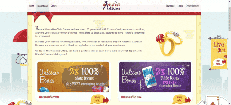 Read more about the article Manhattan Slots Free Spins – Manhattenslots.com Promo Codes September 2021