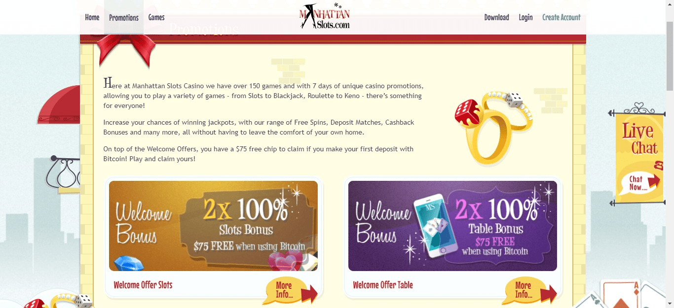 Manhattan Slots Free Bonus Codes