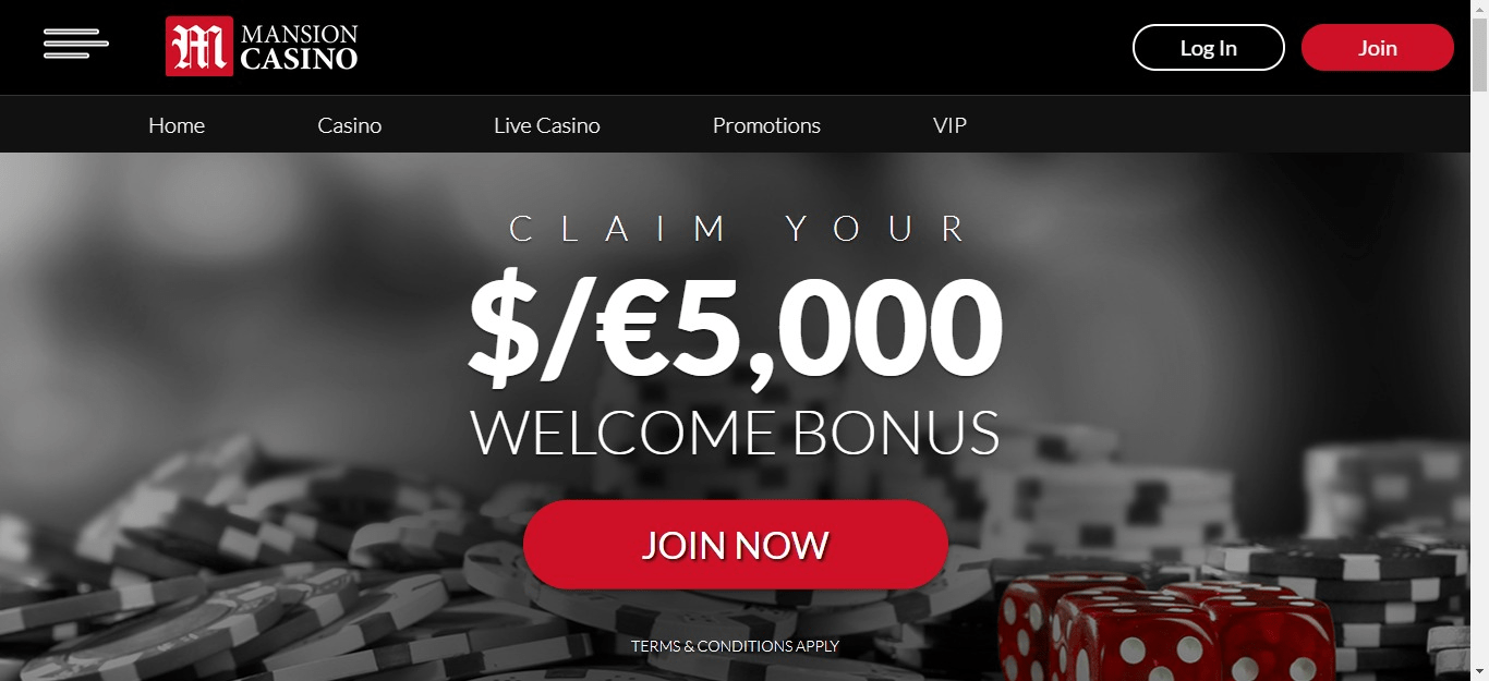 You are currently viewing Mansion Casino Bonus Codes – Mansioncasino.com Coupons September 2021