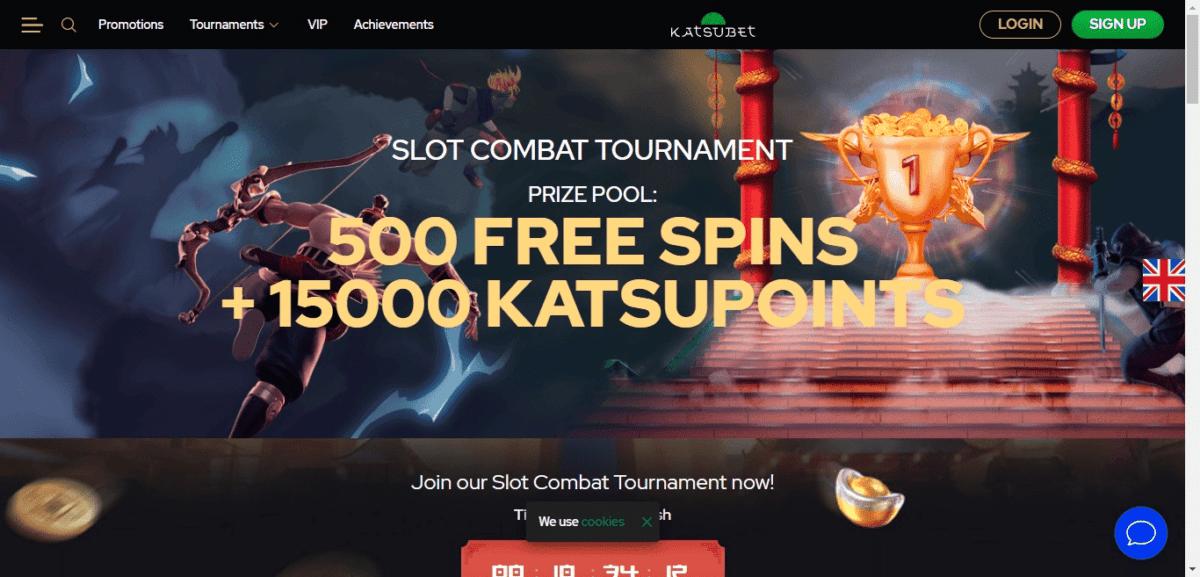 Katsubet Free Spins Bonus