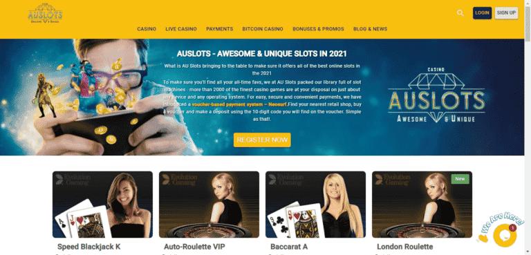Read more about the article AU Slots Bonus Codes – AU-Slots.com Free Spins September 2021