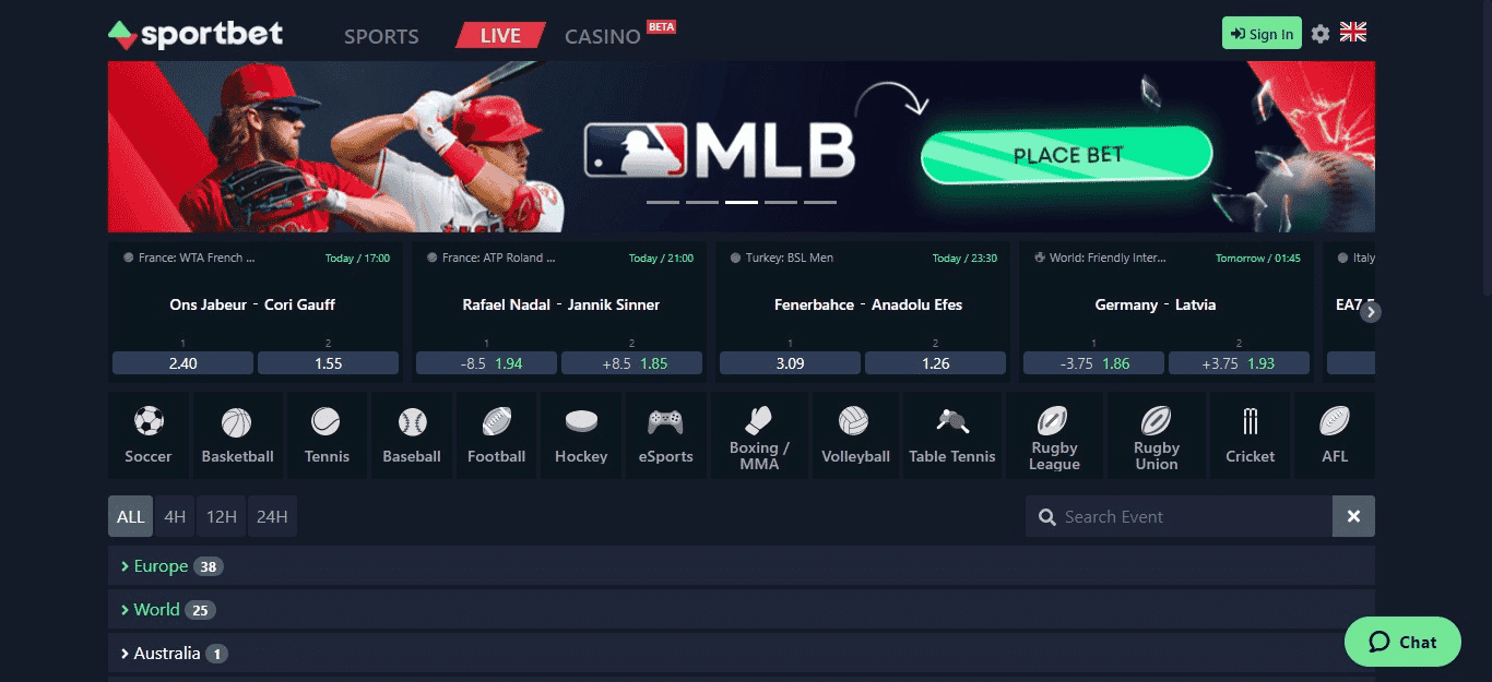 Decentralized Sports Betting