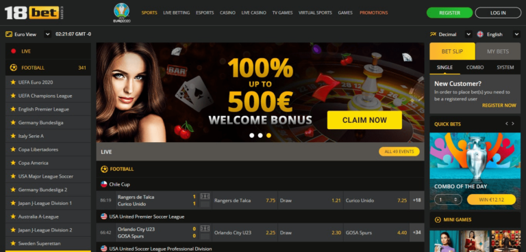 Read more about the article 18Bet Casino Promo Codes – 18Bet.com Free Spins September 2021