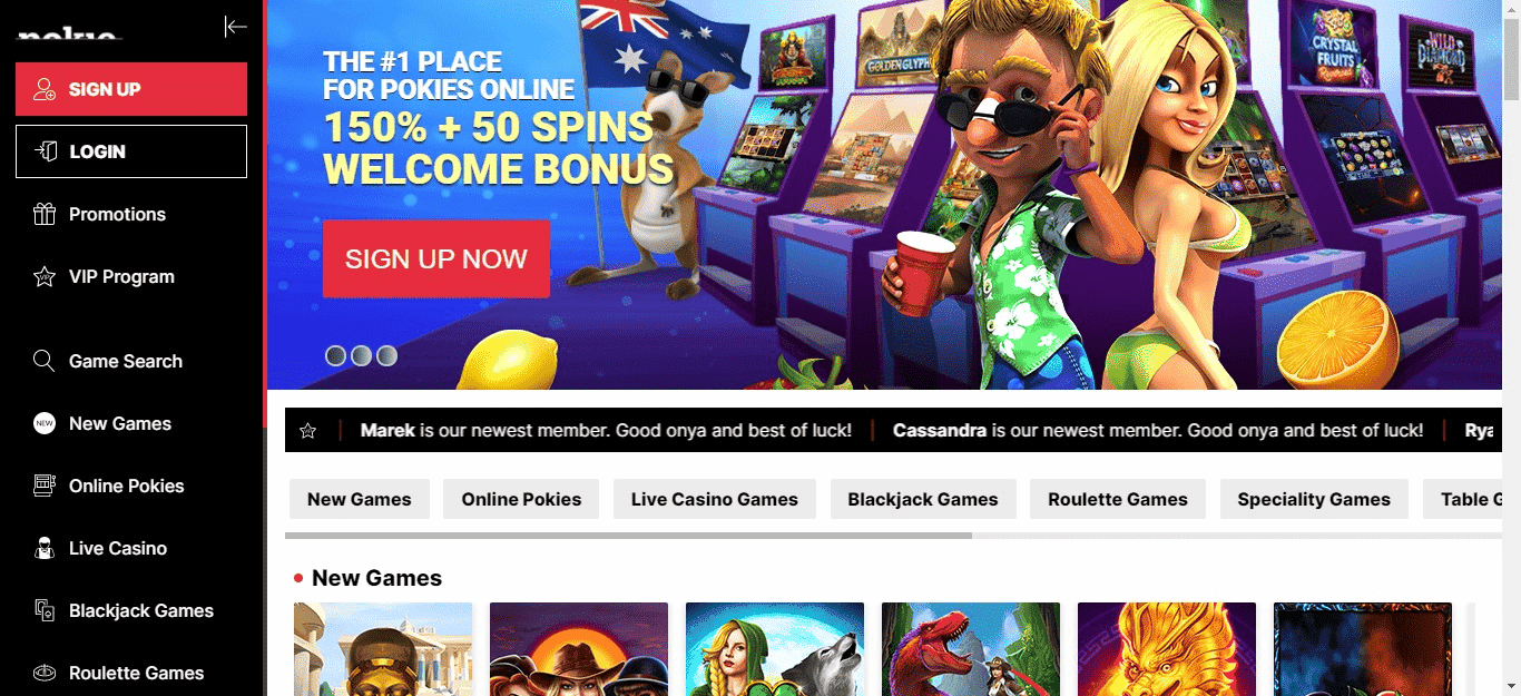 Pokie Place Coupon Codes