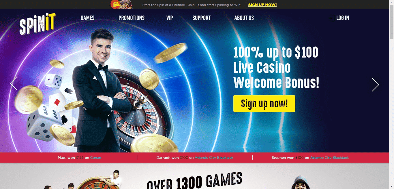 Read more about the article SpinIt Casino Bonus Codes – SpinIt.com Free Spins September 2021