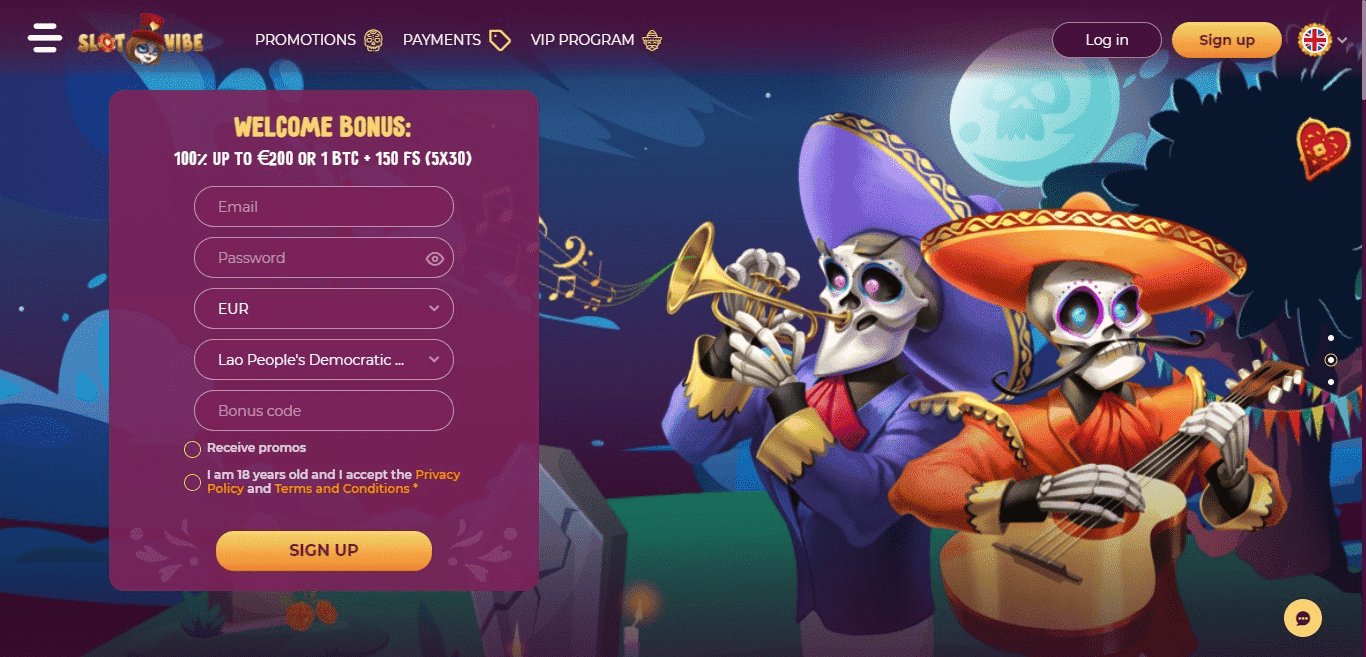 Read more about the article SlotVibe Casino Review – Everything You Need To Know For 2021 Including Bonuses